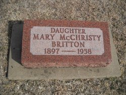 Mary May <i>McChristy</i> Britton