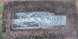 Effie M <i>Rowden</i> Burdett