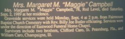 Maggie M <i>Caro</i> Campbell