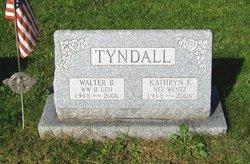 Kathryn F <i>Wentz</i> Tyndall