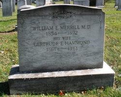 Gertrude E <i>Hammond</i> Merrill