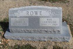 Gertrude A Gertie <i>Burtch</i> Rowe