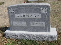 Thelma K <i>Rowe</i> Barnaby
