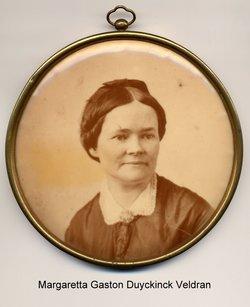 Margaretta Gaston <i>Duyckinck</i> Veldran