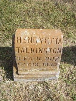 Henryette Talkington
