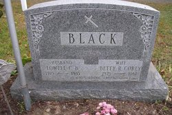 Lowell C B Black