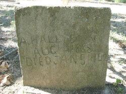 A. Hall