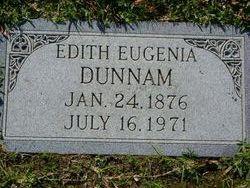 Edith Eugenia Dunnam