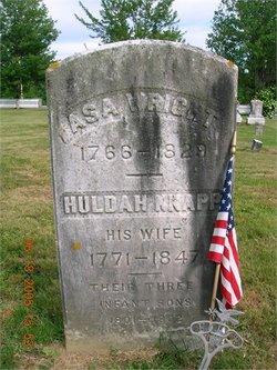 Huldah <i>Knapp</i> Wright
