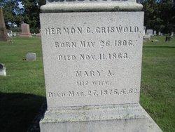 Mary A. <i>Wheaton</i> Griswold