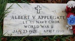Albert V Applegate
