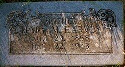 Mary Malinda <i>Roberts</i> Harvey