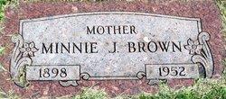 Minnie Jane <i>Howard</i> Brown