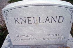 Bertha A. <i>Staples</i> Kneeland