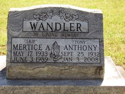 Mertice A. Skip Wandler
