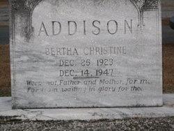 Bertha Christine Addison