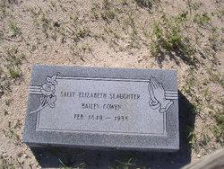 Sally Elizabeth <i>Slaughter</i> Bailey Cowen