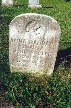 Anna Barbara <i>Lehr</i> Hubler