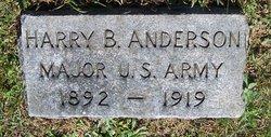 Harry B Anderson