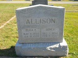 Eliza E. <i>Chessor</i> Allison
