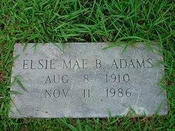 Elsie Mae <i>Blaylock</i> Adams