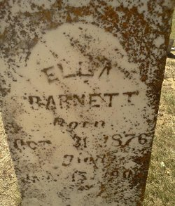 Ellar Ella <i>Wafford</i> Barnett