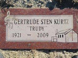 Gertrude Trudy <i>Sten</i> Kurtz