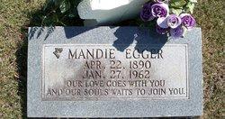 Amanda Elizabeth Mandie <i>Bost</i> Acton Egger