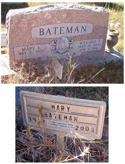 Willard T Bateman