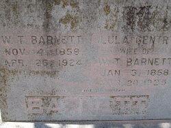Lula J <i>Gentry</i> Barnett