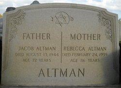 Rebecca <i>Rosenthal</i> Altman