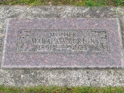 Mahala Ann <i>Smith</i> Burton