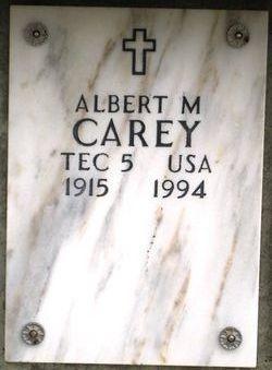 Albert M Carey