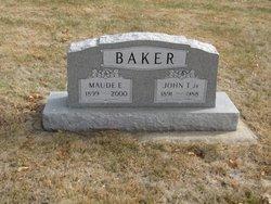 Maude E. <i>Taylor</i> Baker