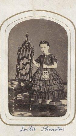 Lottie Luella <i>Thurston</i> Cox