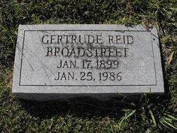 Gertrude <i>Reid</i> Broadstreet