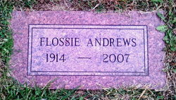 Flossie Jewell <i>Mitchem</i> Andrews