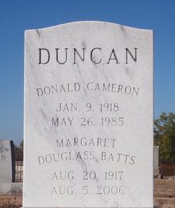 Donald Cameron Duncan