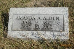 Amanda A Alden