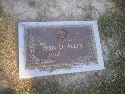 Elsie D Allen