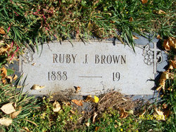 Ruby Mary <i>Mills</i> Brown