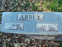 Allen C Abbey