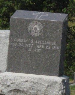 Conrad S Alexander