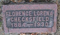 Florence Lorena <i>Chaplin</i> Checksfield
