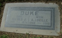 Alfred J Duke