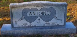 Willie Antoine, Jr
