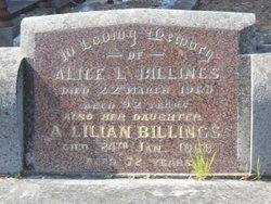 Alice Lillian Billings