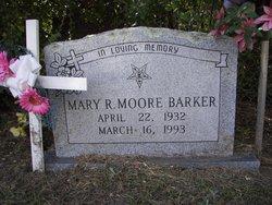 Mary R <i>Moore</i> Barker
