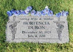 Hortencia <i>Garcia</i> Duron