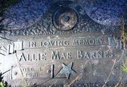 Allie Mae <i>Chester</i> Barnes
